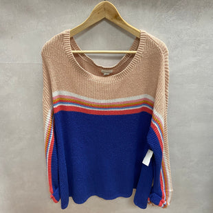 Primary Photo - BRAND: CASLON STYLE: SWEATER LIGHTWEIGHT COLOR: MULTI SIZE: 2X SKU: 194-194172-22594