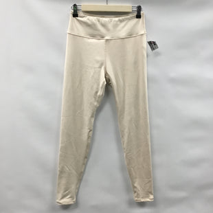 Primary Photo - BRAND:    CLOTHES MENTOR STYLE: ATHLETIC PANTS COLOR: CREAM SIZE: M OTHER INFO: KITTENISH - SKU: 194-194224-654