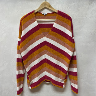 Primary Photo - BRAND: WHITE BIRCH STYLE: SWEATER LIGHTWEIGHT COLOR: STRIPED SIZE: S SKU: 194-194236-511