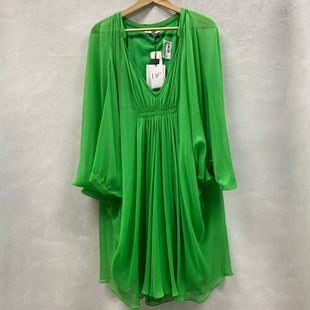 Primary Photo - BRAND: DIANE VON FURSTENBERG STYLE: DRESS SHORT LONG SLEEVE COLOR: GREEN SIZE: L OTHER INFO: NEW! AS IS SKU: 194-194234-780