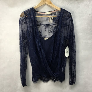 Primary Photo - BRAND: ALTARD STATE STYLE: TOP LONG SLEEVE COLOR: NAVY SIZE: S OTHER INFO: NEW! SKU: 194-194183-23204