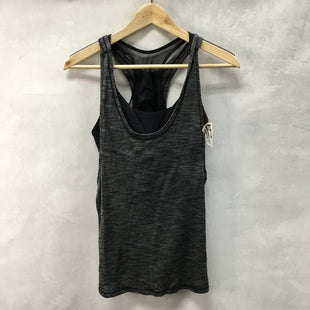 Primary Photo - BRAND: LULULEMON STYLE: ATHLETIC TANK TOP COLOR: CHARCOAL SIZE: 8 SKU: 194-194231-1514