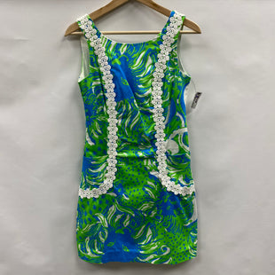 Primary Photo - BRAND: LILLY PULITZER STYLE: DRESS SHORT SLEEVELESS COLOR: BLUE GREEN SIZE: XS SKU: 194-194167-35073