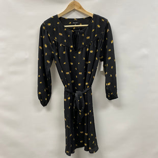 Primary Photo - BRAND: MADEWELL STYLE: DRESS SHORT LONG SLEEVE COLOR: BLACK SIZE: XXS SKU: 194-194236-1299