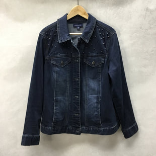 Primary Photo - BRAND: CHARTER CLUB STYLE: BLAZER JACKET COLOR: DENIM SIZE: 2X SKU: 194-194183-21767