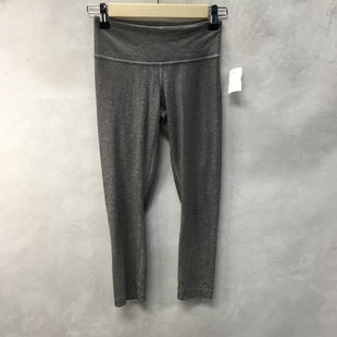 Primary Photo - BRAND: LULULEMON STYLE: ATHLETIC CAPRIS COLOR: GREY SIZE: 2 SKU: 194-194167-33254