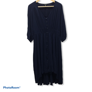 Primary Photo - BRAND: TORRID STYLE: DRESS SHORT LONG SLEEVE COLOR: BLUE SIZE: 2X SKU: 194-194233-34