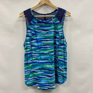 Primary Photo - BRAND: LULULEMON STYLE: ATHLETIC TANK TOP COLOR: BLUE GREEN SIZE: 12 SKU: 194-194236-958