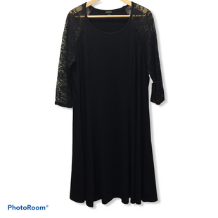 Primary Photo - BRAND: TORRID STYLE: DRESS SHORT LONG SLEEVE COLOR: BLACK SIZE: 2X SKU: 194-194233-38