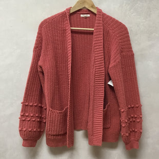 Primary Photo - BRAND: MAURICES STYLE: SWEATER CARDIGAN LIGHTWEIGHT COLOR: PINK SIZE: L SKU: 194-194194-8967