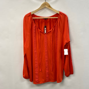 Primary Photo - BRAND: VERVE AMI STYLE: TOP LONG SLEEVE COLOR: ORANGE SIZE: 1X OTHER INFO: NEW! SKU: 194-194231-2811