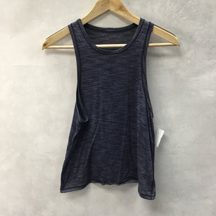 Primary Photo - BRAND: LULULEMON STYLE: ATHLETIC TANK TOP COLOR: BLUE SIZE: 4 SKU: 194-194231-2386