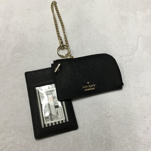 Primary Photo - BRAND: KATE SPADE STYLE: WALLET COLOR: BLACK SIZE: SMALL OTHER INFO: 5 X 3 INCHESSKU: 194-194194-6632