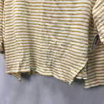 Photo #1 - BRAND: BY TOGETHER <BR>STYLE: TOP SHORT SLEEVE <BR>COLOR: STRIPED <BR>SIZE: S <BR>SKU: 194-194167-30897