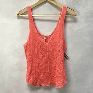 Primary Photo - BRAND: FREE PEOPLE STYLE: TOP SLEEVELESS COLOR: PEACH SIZE: M SKU: 194-194234-891