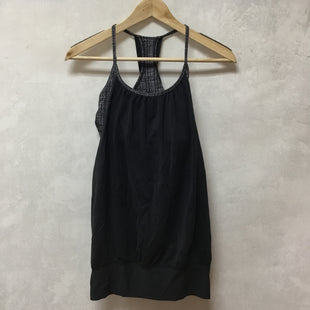 Primary Photo - BRAND: LULULEMON STYLE: ATHLETIC TANK TOP COLOR: CHARCOAL SIZE: 6 SKU: 194-194229-4351