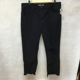 Primary Photo - BRAND: LEVIS STYLE: PANTS COLOR: BLACK SIZE: 14 SKU: 194-194167-32964