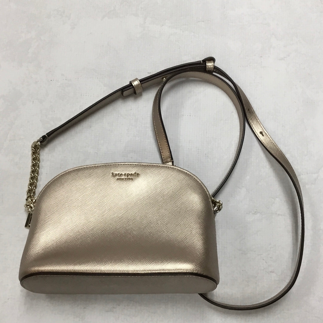 Primary Photo - BRAND: KATE SPADE <BR>STYLE: HANDBAG DESIGNER <BR>COLOR: ROSE <BR>SIZE: SMALL <BR>OTHER INFO: ROSE GOLD <BR>SKU: 194-194229-1530