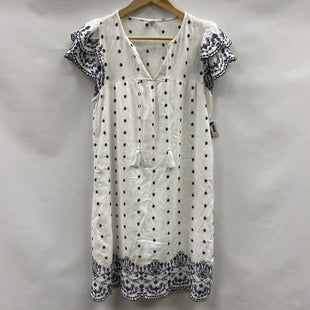Primary Photo - BRAND: OLD NAVY O STYLE: DRESS SHORT SHORT SLEEVE COLOR: WHITE BLUE SIZE: XS SKU: 194-194183-25515