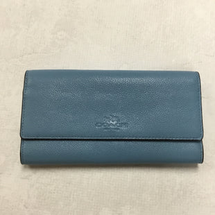 Primary Photo - BRAND: COACH STYLE: WALLET COLOR: BLUE SIZE: LARGE SKU: 194-194194-6714