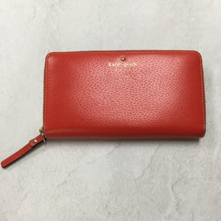 Primary Photo - BRAND: KATE SPADE STYLE: WALLET COLOR: RED SIZE: LARGE SKU: 194-19414-38169