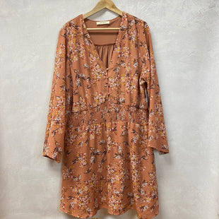 Primary Photo - BRAND:   A BEAUTIFUL SOULSTYLE: DRESS LONG LONG SLEEVE COLOR: FLOWERED SIZE: 1X OTHER INFO: NEW! SKU: 194-194183-21556
