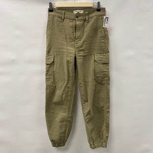 Primary Photo - BRAND: MADEWELL STYLE: PANTS COLOR: OLIVE SIZE: 0 SKU: 194-194236-1295
