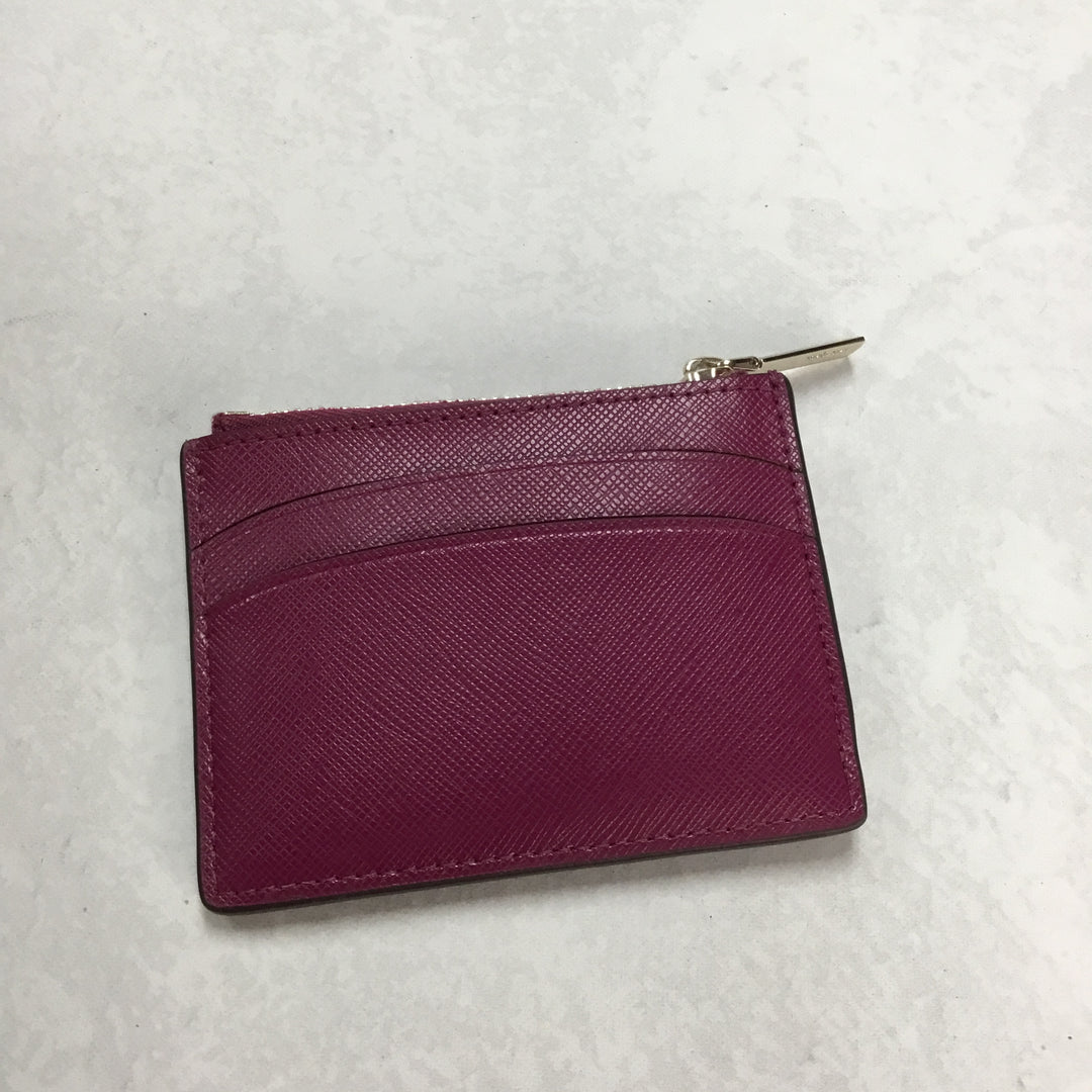 Photo #1 - BRAND: KATE SPADE <BR>STYLE: WALLET <BR>COLOR: RASPBERRY <BR>SIZE: SMALL  <BR>SKU: 194-194229-2749