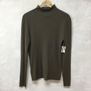 Primary Photo - BRAND: LOFT STYLE: TOP LONG SLEEVE COLOR: GREEN SIZE: L OTHER INFO: NEW! SKU: 194-194229-4247