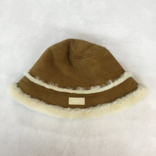 Primary Photo - BRAND: UGG STYLE: HAT COLOR: BROWN SKU: 194-19414-36253