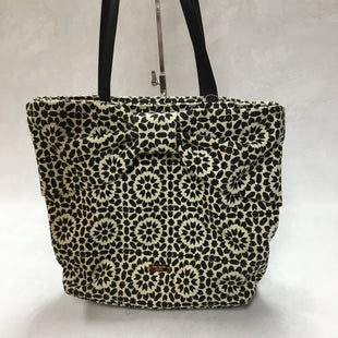 Primary Photo - BRAND: KATE SPADE STYLE: HANDBAG COLOR: BLACK WHITE SIZE: MEDIUM OTHER INFO: 11.5 X 5 X 13 INCHESSKU: 194-194230-2408