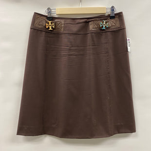 Primary Photo - BRAND: TORY BURCH STYLE: SKIRT COLOR: BROWN SIZE: 10 SKU: 194-194167-34192
