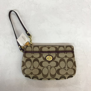 Primary Photo - BRAND: COACH STYLE: WRISTLET COLOR: TAN SIZE: S SKU: 194-194226-476