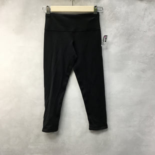 Primary Photo - BRAND: LULULEMON STYLE: ATHLETIC CAPRIS COLOR: BLACK SIZE: 2 SKU: 194-194167-33263