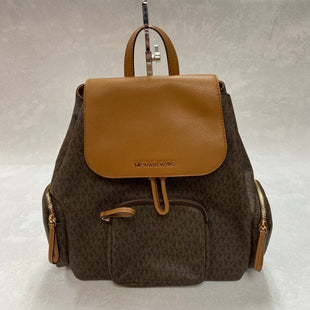 Primary Photo - BRAND: MICHAEL KORS STYLE: BACKPACK COLOR: MONOGRAM SIZE: MEDIUM OTHER INFO: ABBEY CARGO SKU: 194-19414-36535