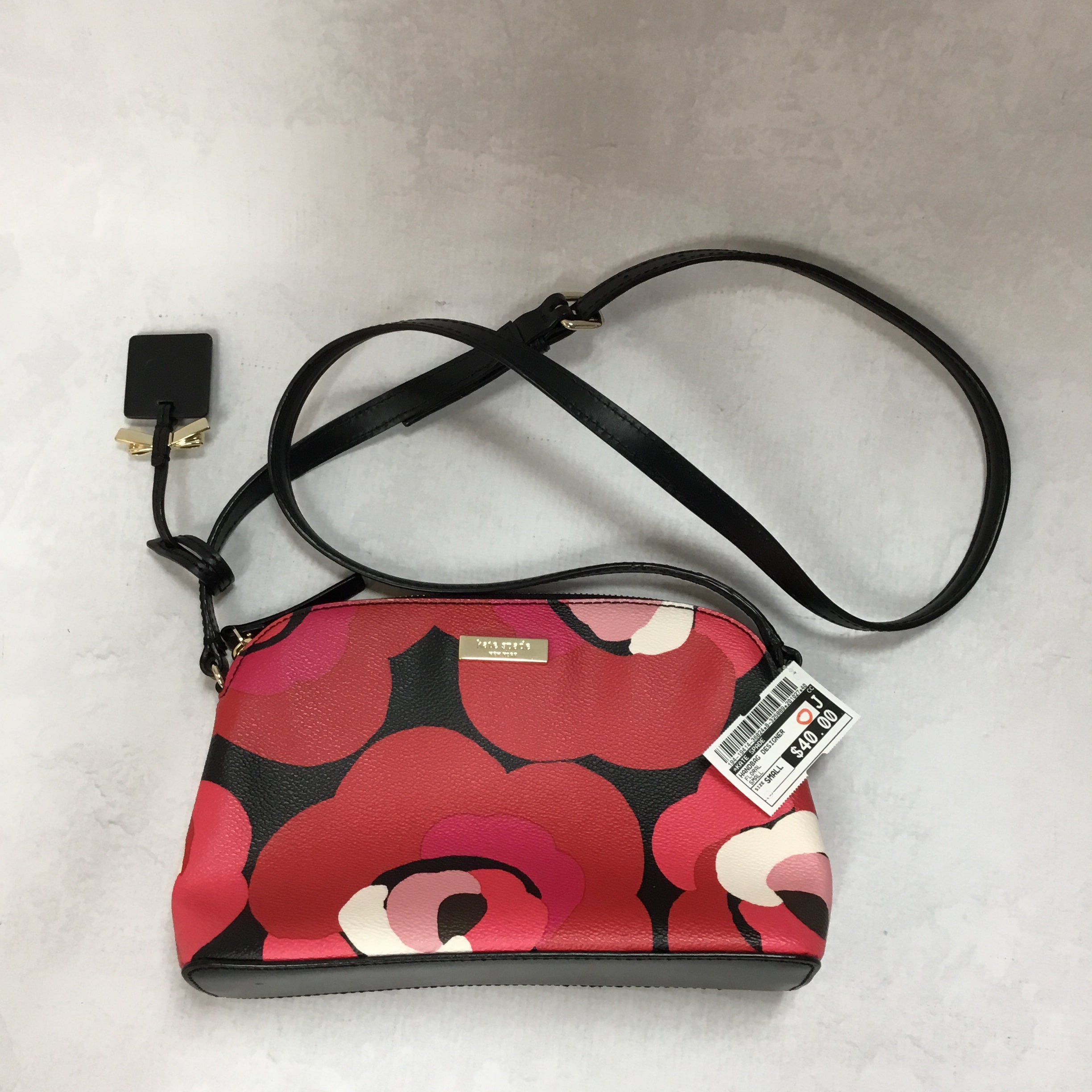 Photo #1 - BRAND: KATE SPADE <BR>STYLE: HANDBAG DESIGNER <BR>COLOR: FLORAL <BR>SIZE: SMALL <BR>SKU: 194-19414-36824<BR>9X6.5X3
