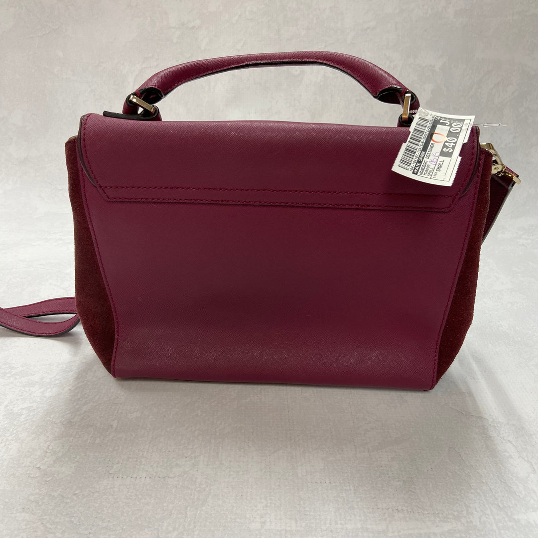 Photo #1 - BRAND: KATE SPADE <BR>STYLE: HANDBAG DESIGNER <BR>COLOR: MAROON <BR>SIZE: SMALL <BR>OTHER: AS IS <BR>SKU: 194-194197-13413