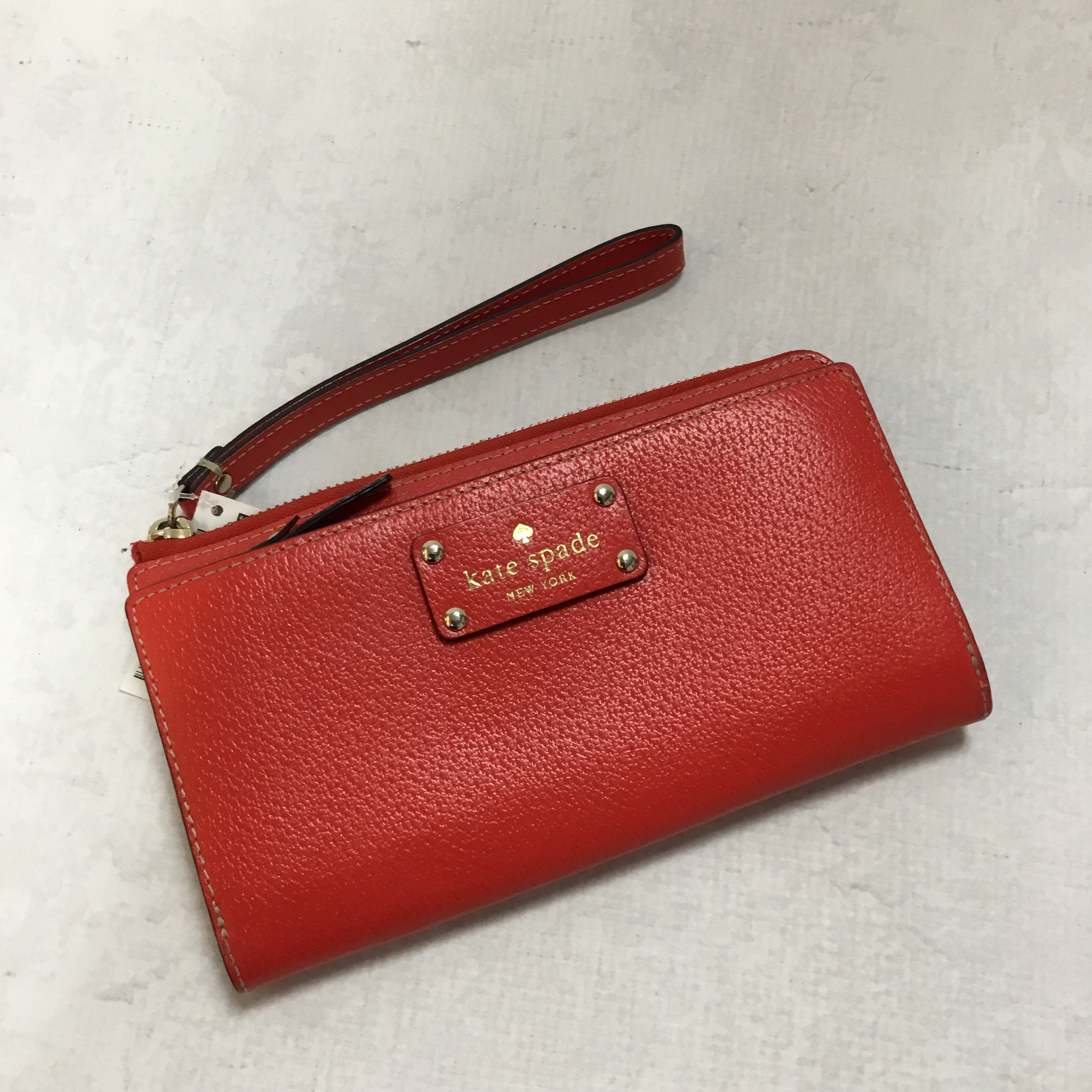 Primary Photo - BRAND: KATE SPADE <BR>STYLE: WRISTLET <BR>COLOR: RED <BR>SKU: 194-194194-6821