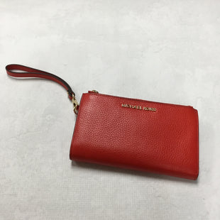 Primary Photo - BRAND: MICHAEL KORS STYLE: WALLET COLOR: RED SIZE: LARGE OTHER INFO: 7.5 X 1 X 5 INCHESSKU: 194-194183-19728