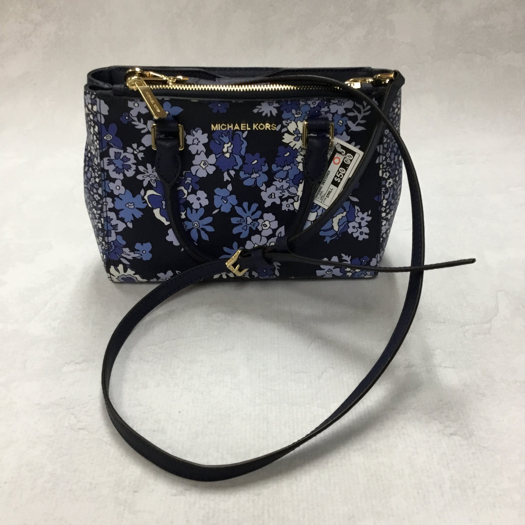Primary Photo - BRAND: MICHAEL KORS <BR>STYLE: HANDBAG DESIGNER <BR>COLOR: FLORAL <BR>SIZE: SMALL <BR>OTHER INFO: 11 X 4.5 X 7 INCHES<BR>SKU: 194-194172-22750