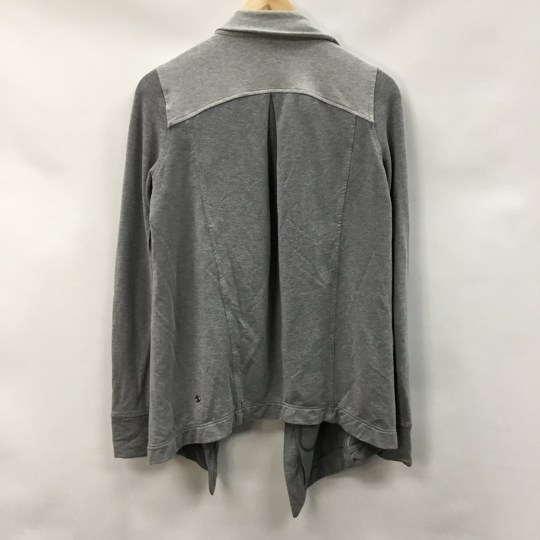 Photo #1 - BRAND: LULULEMON <BR>STYLE: SWEATER CARDIGAN HEAVYWEIGHT <BR>COLOR: GREY <BR>SIZE: 6 <BR>SKU: 194-194167-33548