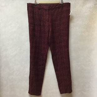 Primary Photo - BRAND: TORY BURCH STYLE: PANTS COLOR: MAGENTA SIZE: 14 OTHER INFO: NWT DREW PANT SKU: 194-194220-6308