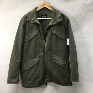 Primary Photo - BRAND: MADEWELL STYLE: COAT SHORT COLOR: OLIVE SIZE: M SKU: 194-194194-7838