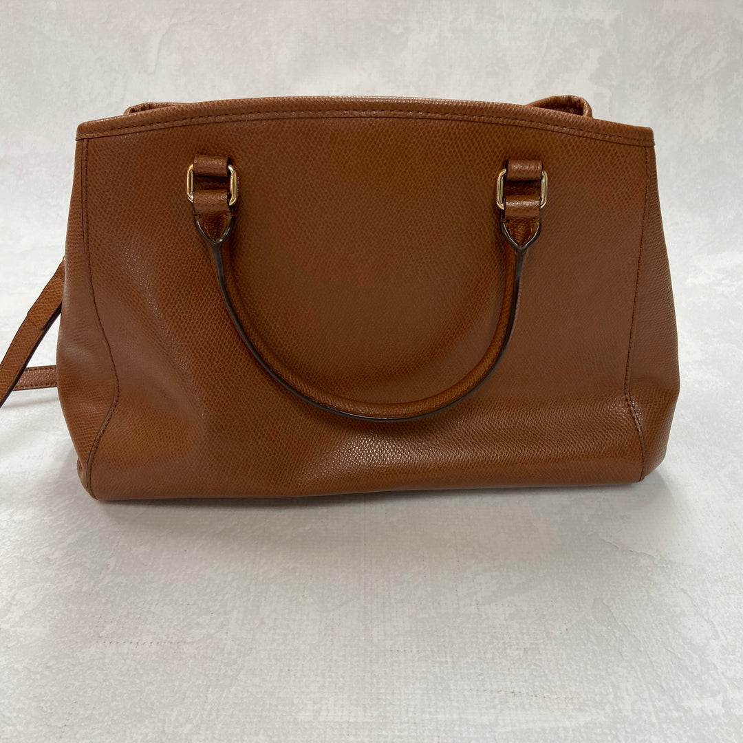 Photo #1 - BRAND: COACH <BR>STYLE: HANDBAG DESIGNER <BR>COLOR: BROWN <BR>SIZE: MEDIUM <BR>SKU: 194-194183-19921