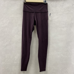 Primary Photo - BRAND: LULULEMON STYLE: ATHLETIC PANTS COLOR: MAROON SIZE: 6 SKU: 194-194234-69