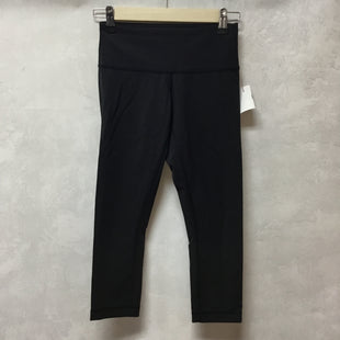 Primary Photo - BRAND: LULULEMON STYLE: ATHLETIC CAPRIS COLOR: BLACK SIZE: 2 SKU: 194-19414-38283