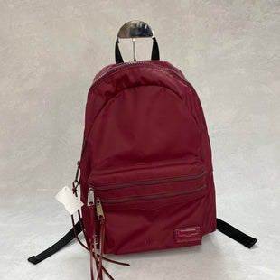 Primary Photo - BRAND: REBECCA MINKOFF STYLE: HANDBAG DESIGNER COLOR: MAROON SIZE: LARGE OTHER INFO: 2 ZIP BACKPACK 10.5 X 4.5 X 14.5 INCHESSKU: 194-194183-23942