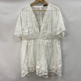 Primary Photo - BRAND:    BBYESSTYLE: DRESS SHORT SHORT SLEEVE COLOR: OFF WHITE SIZE: XXL OTHER INFO:SKU: 194-194220-6941