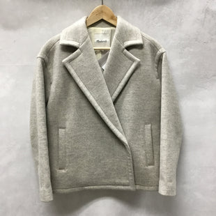 Primary Photo - BRAND: MADEWELL STYLE: JACKET OUTDOOR COLOR: GREY SIZE: XS SKU: 194-194183-21606