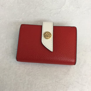 Primary Photo - BRAND: MICHAEL KORS STYLE: WALLET COLOR: RED SIZE: SMALL SKU: 194-194225-732
